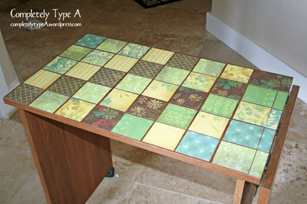 Mod Podge Tables Completely Type A