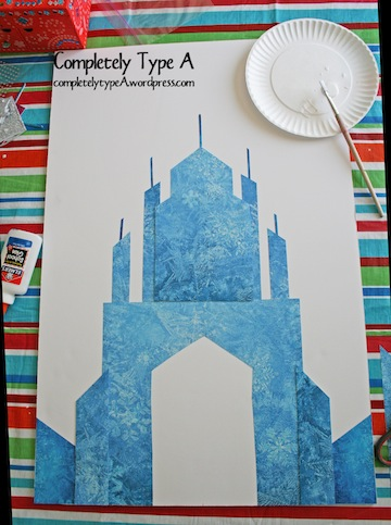 How To Make Elsa S Ice Castle From Disney S Frozen