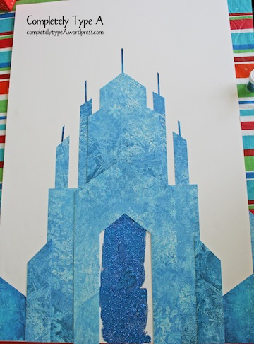 How To Make Elsa S Ice Castle From Disney S Frozen Completely Type A