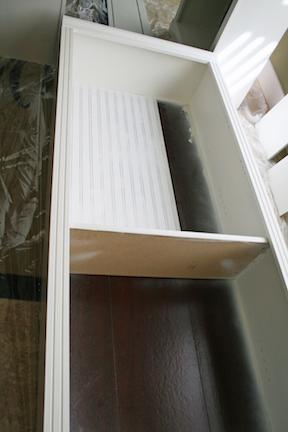 DIY Book Shelf Update